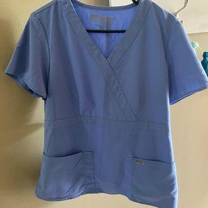 Grey's Anatomy scrub top